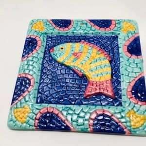 Clay Art Mosaic Fish